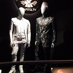 Haymitch and Peta's outfits
