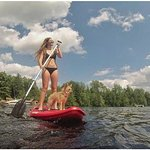 Enjoy FREE use of our Paddle boards