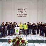 Alumnos de SNA Educa junto a guias Spicy en Edificio Patrimonial de SNA en calle Tenderini
