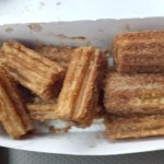 Churros use to be good, it was hard and cold.