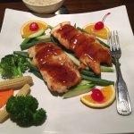 Great sushi. Chicken teriyaki was so/so