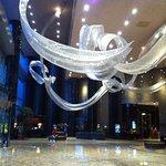 the lobby!