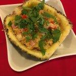 Poulet à l'ananas frais