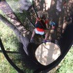 Le Vertige des Kofans, un saut vertigineux de 10m dans le vide