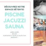 Piscine/Jacuzzi/Sauna