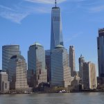 View of One World Trade from the ferry
