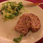 Polpettone con insalata verde