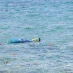 clear water snorkeling