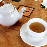 Moroccan Mint green tea and toffee puffing for an afternoon treat. But visiting this Tea House w