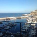 Marina and sea view