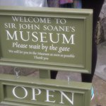 sign outside the museum