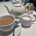 Dammann Frères tea (Earl Grey with milk & sugar)