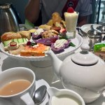 Afternoon tea spread for 1