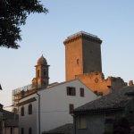la torre e campanile della parrocchiale