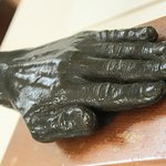 An impression of Barbara Hepworth's hands