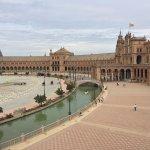 Plaza de España una maravilla como ven, la boda china y parte de los jardines