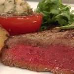 Steaks von der Rinderhüfte