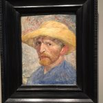 Van Gogh Self Portrait DIA