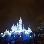 Disneyland at Christmas 2016