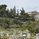 Temple of Hephaistos, Ancient Agora of Athens.