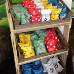 Chase popcorn in a number of flavours