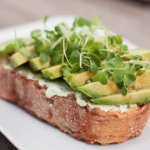 Avocado Open-Faced Sandwich