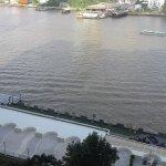View from Inside the Ramada Plaza Bangkok Menam Riverside