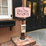 Sign at the Front Door of the Elliott House Inn