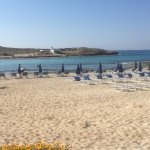 From grass verge where hotels sunbeds are situated lovely views , also the all inclusive menu fo