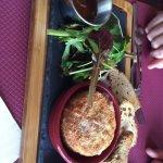 Le camembert rôti