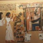 Peintres italiens et expo Égypte antique.
