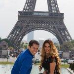 Photo by Ari Bafalouka at the Eiffel Tower