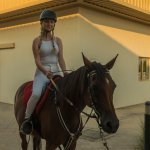horseriding in the afternoon