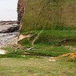 Beach area and hill climb