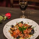 Antonucci's Seafood Combination #2 with Red Sauce