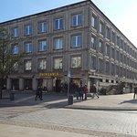Nice beer hall on famous street
