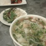 Vegetable and Tofu Pho