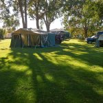 Our campsite - lots of grass for the kids and a peaceful place to be surrounded by lovely views.