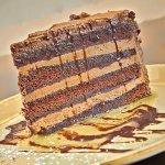 Four Layer Chocolate Cake