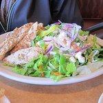 Souvlaki salad