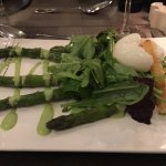 Asparagus Salad w/Poached Egg