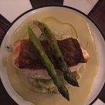 Cod Fish w/Asparagus