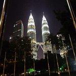 vista do Petronas a partir da recepção do hotel