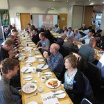 A busy breakfast in the Rivers Room