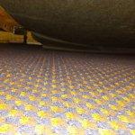 underneath bed