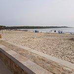 Sa Coma beach; a short walk from the hotel.