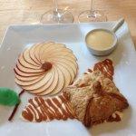 Dessert farandoles de pommes au caramel beurre salé