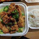 Hot pepper fried chicken