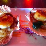 Pan Grilled Scallops