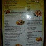 all inclusive menu